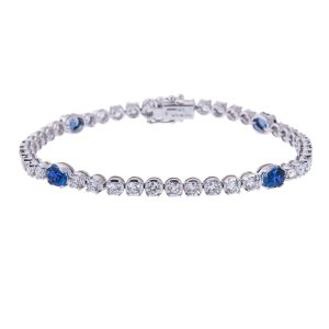 claw-set-oval-sapphire-and-diamond-bracelet