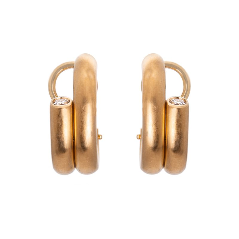 diamond earrings with clip and post fittings