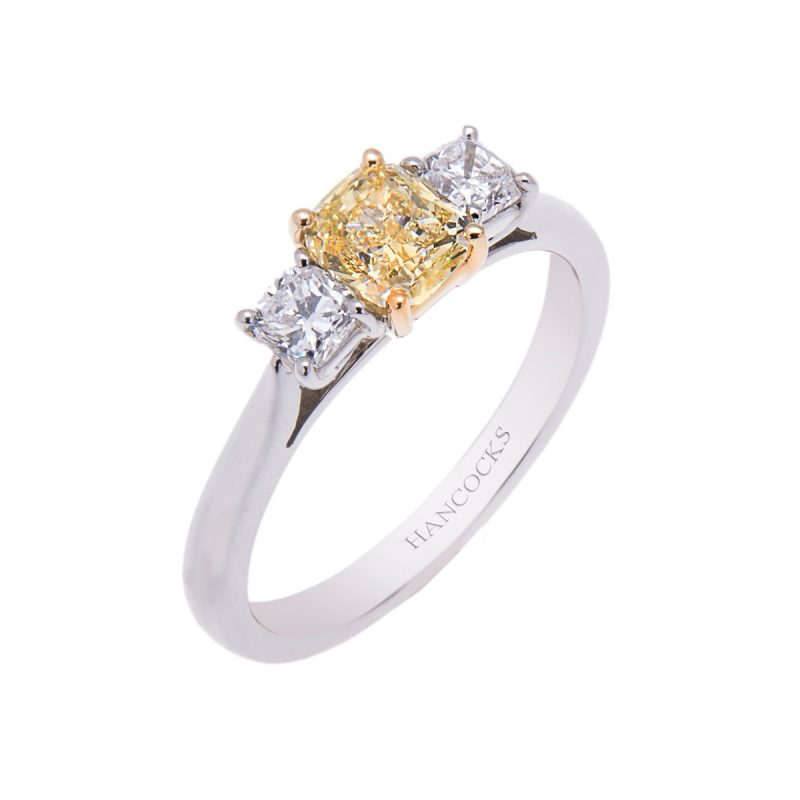 platinum-natural-fancy-radiant-cut-yellow-diamond-three-stone-ring