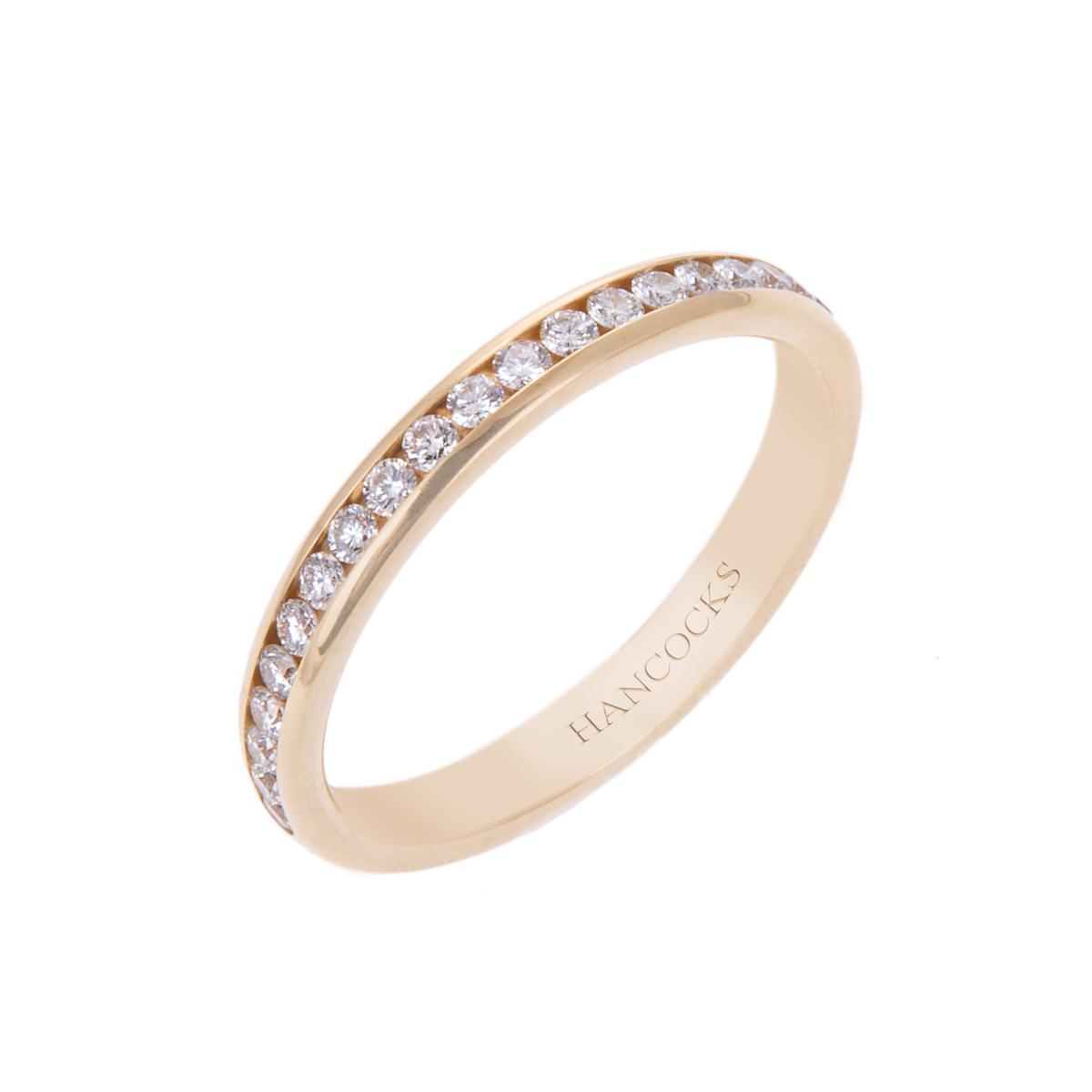 yellow-gold-ladies-diamond-set-wedding-band