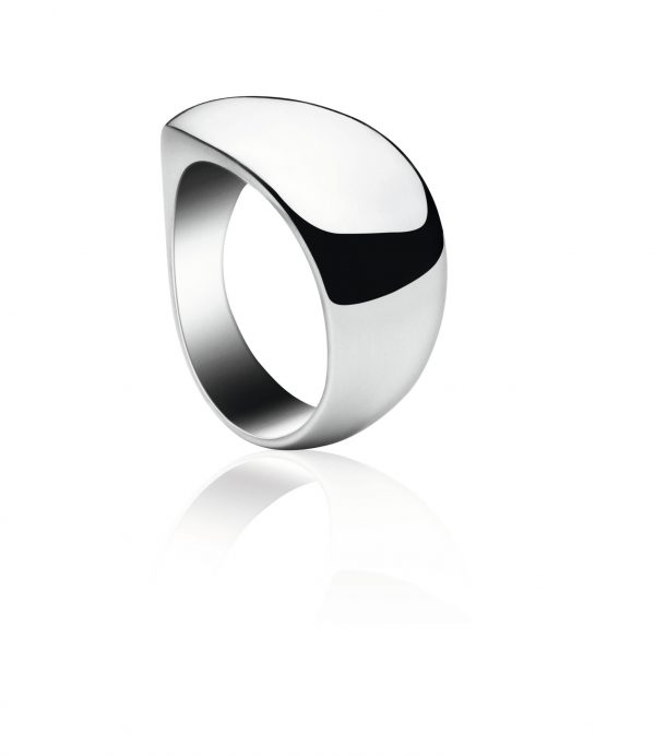 georg jensen zephyr silver ring